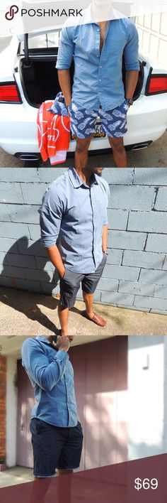 Casual Button Down Shirt In collaboration with Original Paperbacks, Best Hombre brings you a tailored fit with a vintage feel. Best Hombre Shirts Casual Button Down Shirts