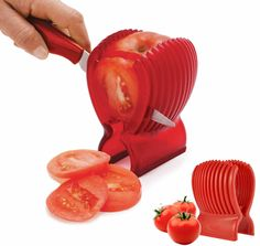 Kitchen Clip Tomato Fruit Cucumber Vegetable Salad Slicer Cutter Potato Onions in Home, Furniture & DIY, Cookware, Dining & Bar, Food Preparation & Tools | eBay