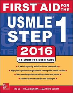 Download First Aid for the USMLE Step 1 2016 by Tao Le PDF, eBook, ePub, Kindle…
