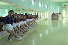 Hiroji Kubota NORTH KOREA. Pyongyang. 1979. Children at a model kindergarden. Via Magnum Photos