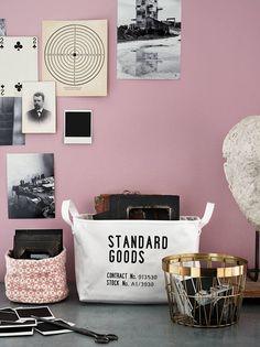 storage campaign for H&M Home