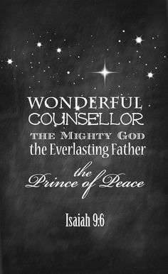 Isaiah 9 Free Christmas Printable from onsuttonplace.com