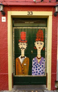 newly creative: Madeira: Doors