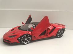 Awesome Great Brand New Lamborghini Centenario Die-cast model 1/18 Plastic and metal parts 2017-18