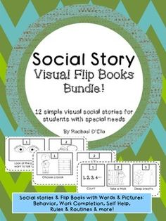 {My Social Story Bundles are my most popular products- and now here is a simpler more visual version for little ones or students with more severe needs!}Are you a Special Educator or a General Education teacher with some unique needs in your classroom?