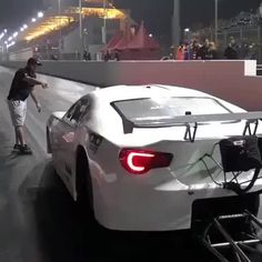 Breaking the world record