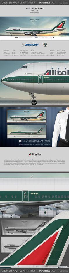 Civil Aviation, Aviation Art, Alitalia Airlines, European Airlines, Aviation Engineering, Vintage Airline, Cargo Airlines, Boeing 747, Spacecraft