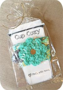 Free Designs & Projects :: Craft Show & Gifting Packaging Ideas - Embroidery Garden In the Hoop Machine Embroidery Designs