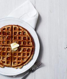 Almond Waffles | KitchenDaily.com