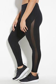 Plus Size Athletic Leggings | Forever 21 PLUS - 2000150671 (size 2x)