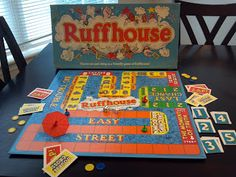 Ruffhouse by Parker Brothers