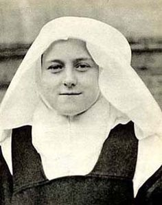 The novice St. Therese, about age 16. Tall, blond, and quite hardy.