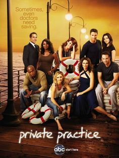 "CAST: Kate Walsh, Tim Daly, Taye Diggs, Amy Brenneman, Paul Adelstein, Audra McDonald, Chris Lowell ; Features: - 11"" x 17"" - Packaged with care - ships in sturdy reinforced packing material - Made in"