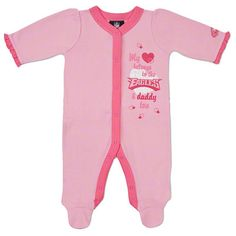 """Bundle up that little girl! #Eagles Girls Sleep N Play $14.97 omg """"my ♥ belongs to the eagles & daddy too"""" definitely need this for the fall"""