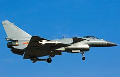 """The Chengdu J-10 , Known in the West as the """"Vigorous Dragon"""", is a lightweight multirole fighter aircraft designed and produced by the People's Republic of China's Chengdu Aircraft Corporation (CAC) for the People's Liberation Army Air Force (PLAAF). The J-10 is a multirole combat aircraft capable of all-weather operation. The Pakistan Air Force is the only export customer for the J-10."""