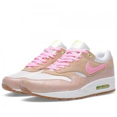 Nike Air Max 1 Heren Schoenen PRM Dusted Clay/Polarized Roze