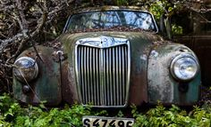 '15 Eerie Pictures Of A Classic Car Graveyard'