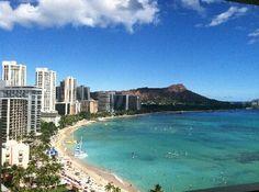 From the Sheraton in #Waikiki, #Hawaii.