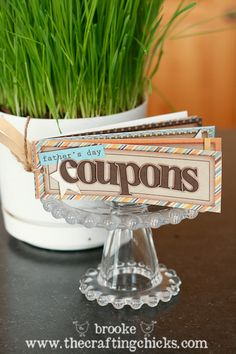 coupons for cake of the month thanks for the idea @Meghan S