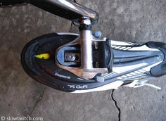As you can see in the above photo, mountain bike cleats allow for both fore/aft and side-to-side adjustment.  They do allow for some ...