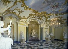 Interior Palacio Real de la Granja (SEGOVIA)