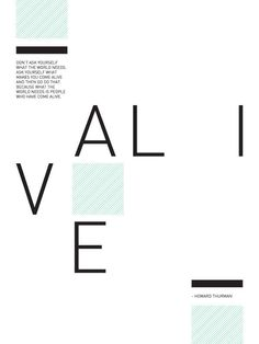 Alive Poster by Andrew Martis | HOLSTEE