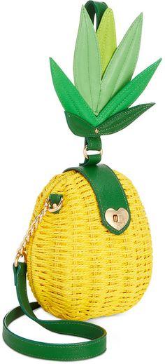 Betsey Johnson Pineapple Small Crossbody