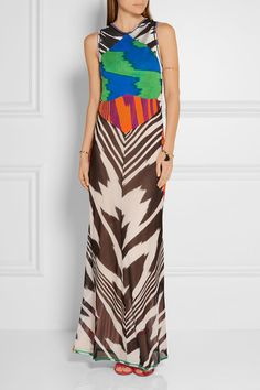 Missoni | Crochet-knit maxi dress | NET-A-PORTER.COM