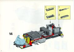 LEGO 5590 Whirl and Wheel Super Truck instructions displayed page by page to help you build this amazing LEGO Model Team set Lego Technic Truck, Lego Basic, Lego Sets, Lego Models, Lego Instructions, Planer, Toddler Bed, Projects To Try, Trucks