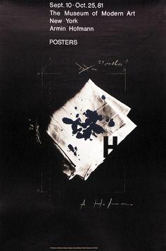 Armin Hofmann, poster
