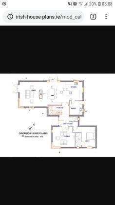 Ground Floor, House Plans, Floor Plans, Flooring, How To Plan, Wood Flooring, House Floor Plans, Floor Plan Drawing, Floor