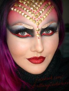theatrical fantasy makeup