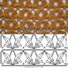 Victorian Fan and Flowers Crochet Bedspread Pattern, Lily Mills No 805 Crochet Motif Patterns, Crochet Chart, Crochet Diagram, Diy Crochet, Crochet Designs, Stitch Patterns, Knitting Patterns, Crochet Projects, Single Rib