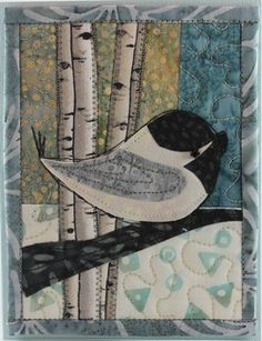 drawing for free quilted card Apr 5-12. Love the idea of quilted cards. Great outlet for quick creative project.
