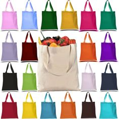 11ed534e3ce 129 Best Cotton Tote Bags images in 2019 | Canvas tote bags, Canvas ...