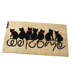 Welcome Kitties Cat Lovers Entrance Outdoor Coco Front Do... https://www.amazon.com/dp/B00CC62J54/ref=cm_sw_r_pi_dp_x_pJQyzb2MVC770