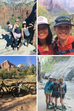 Camping biking and hiking In Zion National Park - what are your favorite ways to enjoy the fresh air?