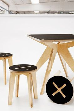 furniture plywood | 27 Contemporary Plywood Furniture Designs