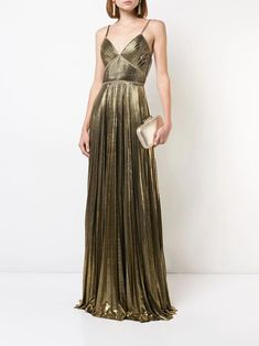 Check out Marchesa Notte with over 1 items in stock. Shop Marchesa Notte metallic pleated gown today with fast Australia delivery and free returns. Shrug For Dresses, Dressy Dresses, The Dress, Nice Dresses, Fall Dresses, Vestido Sherri Hill, Vestidos Marchesa, Bridesmaid Dresses, Prom Dresses