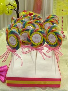 lollipop party favors! big hit!