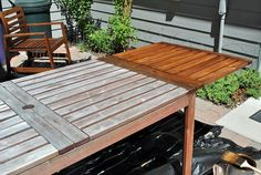 review of ikea outdoor furniture, with tips on upkeep.  DSC_0915 by lifewithkarma, via Flickr