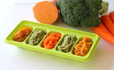 Baby's First Vegetable Purees Recipes: 4-5 month olds