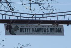 squirrel bridges in longview washington 2012 | Only in this Pacific Northwest city can these holidays occupy the same ...