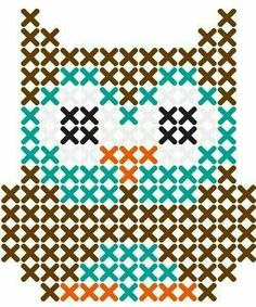 Thrilling Designing Your Own Cross Stitch Embroidery Patterns Ideas. Exhilarating Designing Your Own Cross Stitch Embroidery Patterns Ideas. Owl Patterns, Perler Patterns, Beading Patterns, Embroidery Patterns, Easy Patterns, Color Patterns, Easy Cross Stitch Patterns, Pearler Bead Patterns, Cross Patterns