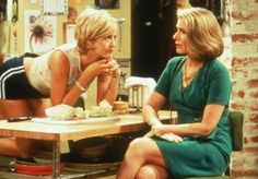 Jenna Elfman and Susan Sullivan in Dharma & Greg Movies Showing, Movies And Tv Shows, Susan Sullivan, Jenna Elfman, Opposites Attract, Television Program, Classic Tv, Music Tv, Favorite Tv Shows