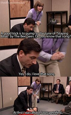 LOL i always laugh more than i should when michael does that in this episode