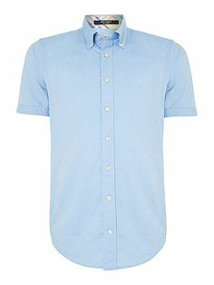 Gant Short Sleeve Gingham Shirt