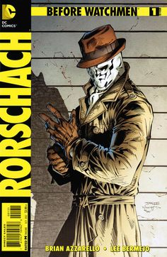 Before Watchmen: Rorschach #1 Variant