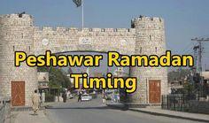 Peshawar Ramadan Timing