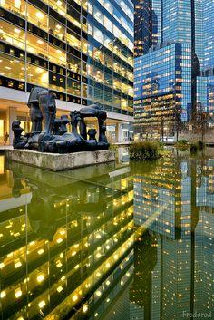La Défense, Paris | great reflections